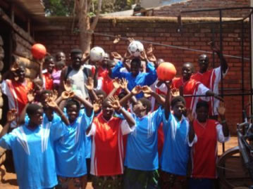 Footballs for Malawi